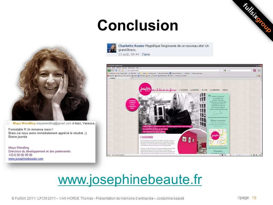 Conclusion www.josephinebeaute.fr [VIDEO]